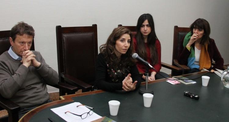 Leonardo Pitlevnik, Julieta Di Corleto, Belén López Peiró y Ileana Arduino