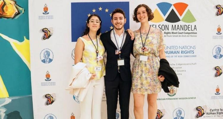 Magdalena Belén Rochi Monagas, Ezequiel Natan Steuemann Waibsnaider y Katia Rosenblat