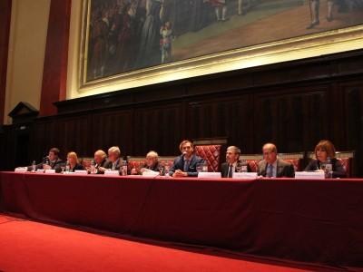 Casiano Highton, María Fabiana Compiani, Ramón Pizarro, Roberto Vázquez Ferreyra, Andrés Prieto Fasano, Mario Fera, Héctor Guisado y María Dora González