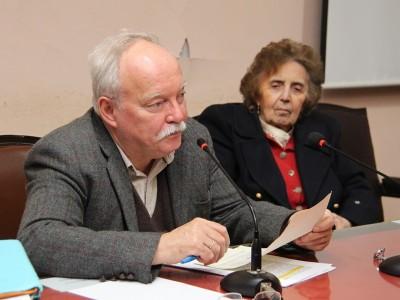 Patrice Vermeren y Alicia Farinati