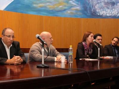 Oscar Zoppi, Francisco Ghiglino, Mariana Perez Acosta, Martiniano Terragni y Mariano Kierszenbaum