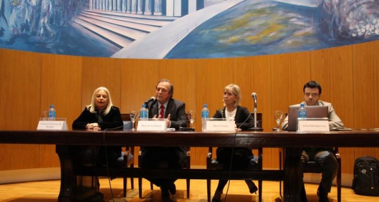 Noemí Goldsztern de Rempel, Marcelo Gebhardt, Silvina Nonna y Sebastián Ingrassia