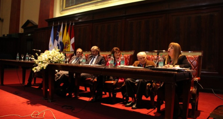 Marcelo Gebhardt, Juan Pablo Mas Vélez, Maureen Birmingham, Aldo Neri y Marisa Aizenberg