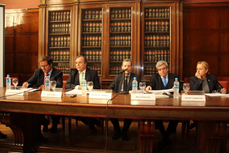 Cecilio Molina Hernández, Marcelo Gebhardt, Héctor O. Chomer, Marcelo Barreiro y Ana Belén Campuzano