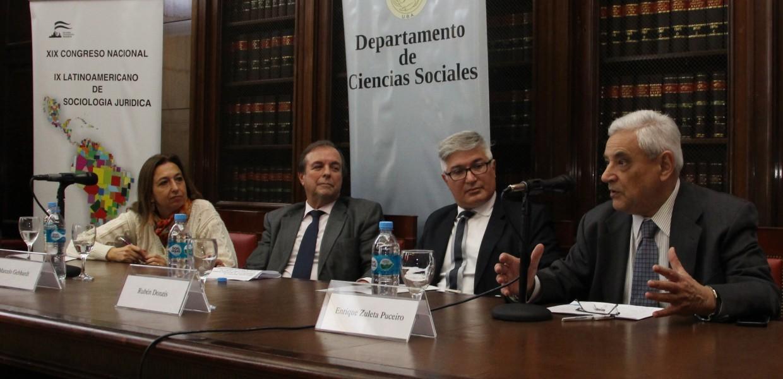 Andrea L. Gastron, Marcelo Gebhardt, Rubén H. Donzis y Enrique Zuleta Puceiro