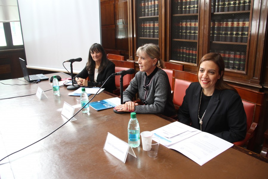 Liliana Bertoni, Silvia Nonna y Jamile Bergamaschine