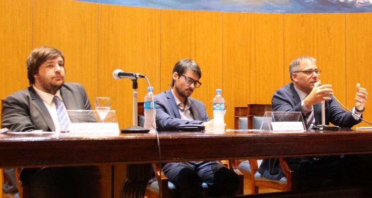 Federico Taboada, Martín Wittmann y Calogero Pizzolo