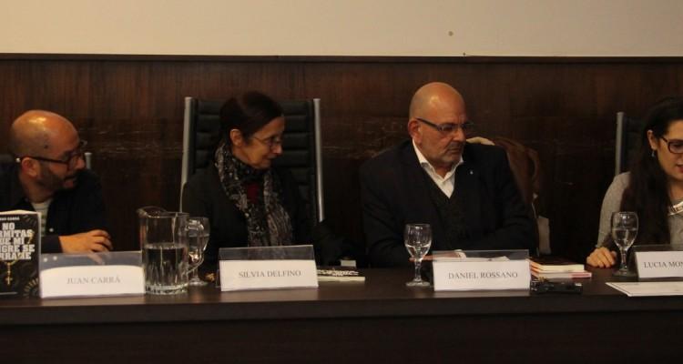 Juan Carrá, Silvia Delfino, Daniel Rossano y Lucía Montenegro