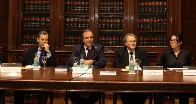 Daniel Germán, Héctor O. Chomer, Marcelo Gebhardt, Marcelo Haissiner, Gabriela Antonella Michudis y Ana C. Alonso