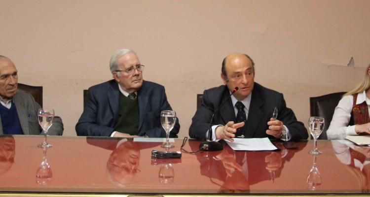 Abelardo Levaggi, Tulio Ortiz, Alberto David Leiva y María del Carmen Maza