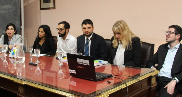 Yamila Castagnola, Jacqueline Villegas Acuña, Emiliano Litardo, Diego Ortiz, Analía Pasantino y Martin Testa
