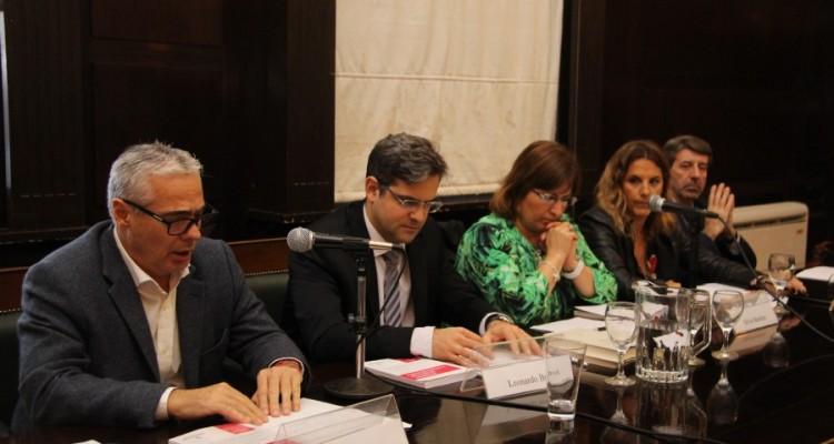 Sergio Torres, Leonardo Brond, Silvia Martínez, Marina Soberano y Ricardo Basílico