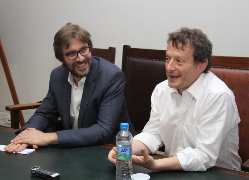 Martín Sigal y Leonardo Pitlevnik