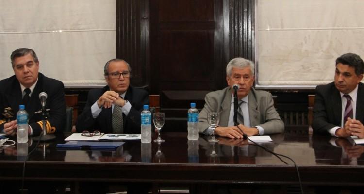 Horacio Terribile, Eduardo Raúl Castro Rivas, Ángel Tello y Alejandro Gómez