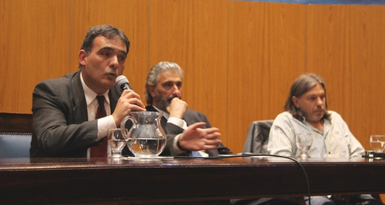 Juan Antonio Seda, Juan Pablo Mas Velez y Daniel Ricci