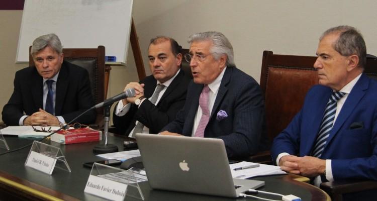 Carlos Clerc, Marcelo Pepe, Daniel Roque Vítolo y Eduardo Mario Favier Dubois (h)