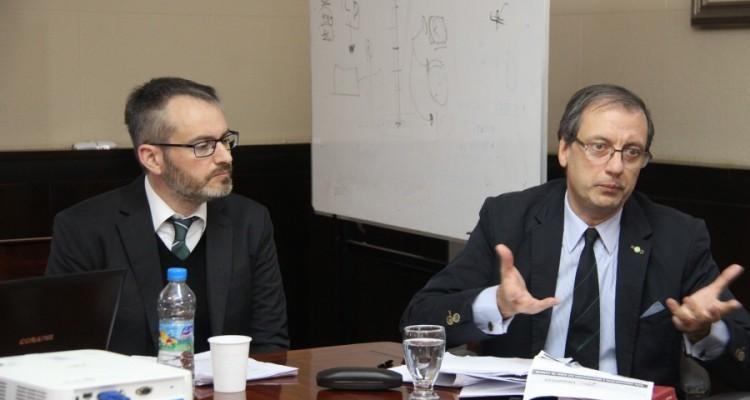 Lautaro Contreras y Eugenio Sarrabayrouse