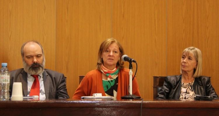 Jorge Esain, Leila Devia y Silvia Nonna