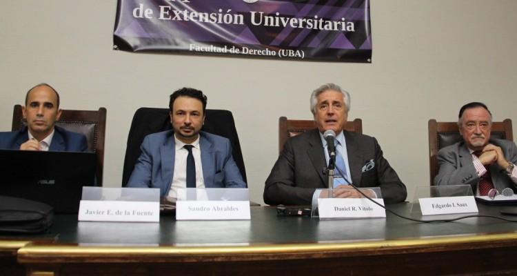 Javier Esteban De La Fuente, Sandro Abraldes, Daniel Roque Vítolo y Edgardo I. Saux