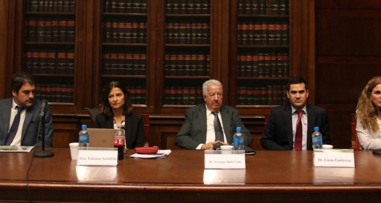 Andrés Ballotta, Fabiana Schafrik, Enrique Bulit Goñi, Lucas Gutiérrez y Silvina Coronello