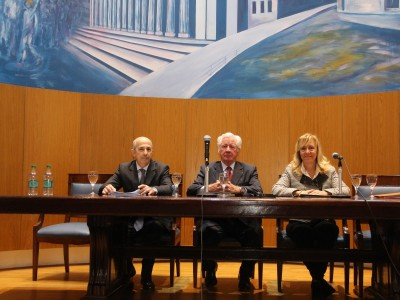 Diego Esteban Chami, Alberto C. Cappagli y Nelida Malek Angelotti