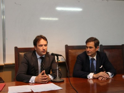 Jean Philippe Derosier y Pablo Manili