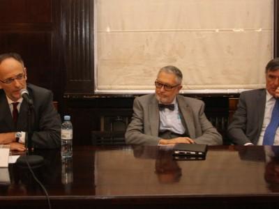 Carlos F. Balbín, Ernesto A. Marcer y Fernando García Pullés