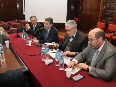 Fabián Huepe, Juan Carlos Ferrada, Ernesto A. Marcer y Santiago García Mira
