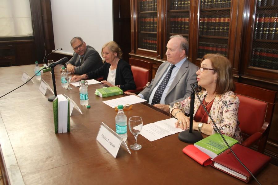 Calogero Pizzolo, Susana Albanese, Daniel A. Sabsay y Adelina Loianno