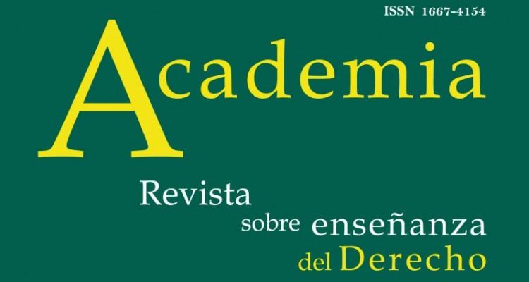 <i>Academia. Revista sobre Enseñanza del Derecho</i> n. º 30