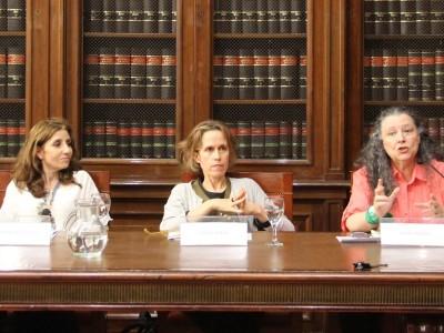 Iñaki Anitua, Julieta Di Corleto, Lila Caimari, Diana Maffía y Leonardo Filippini