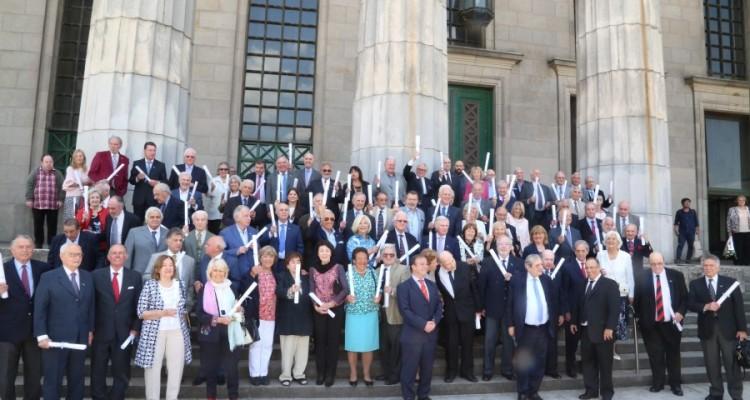 Homenaje a la promoción 1968 en su 50º aniversario de graduación