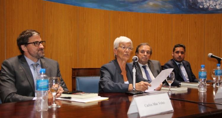 Carlos Mas Velez, Mónica Pinto, Marcelo Gebhardt y Leandro A. Martínez