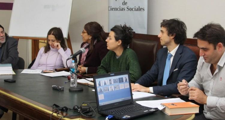 Ricardo Rabinovich-Berkman, Andrea L. Gastron, María Rosa Ávila, Guadalupe Salomón, Guido Croxatto y Julián Axat