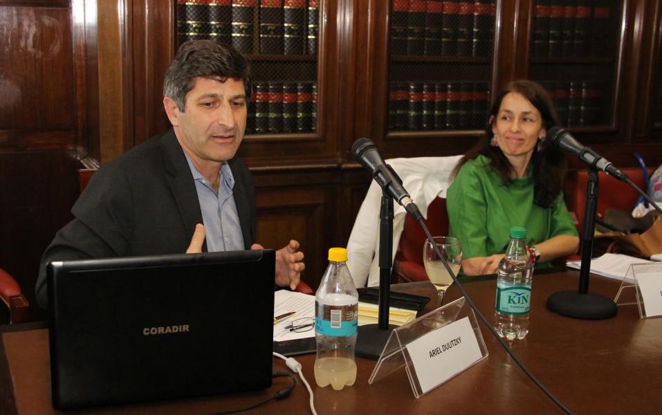 Ariel Dulitzky y Laura Pautassi