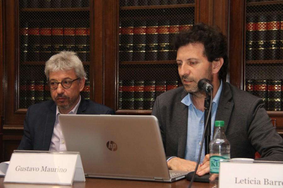 Horacio Corti y Gustavo Maurino