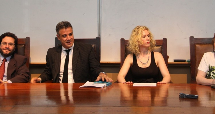 Elián Pregno, Daniel Rafecas, Irene Massimino y Elizabeth Silva.