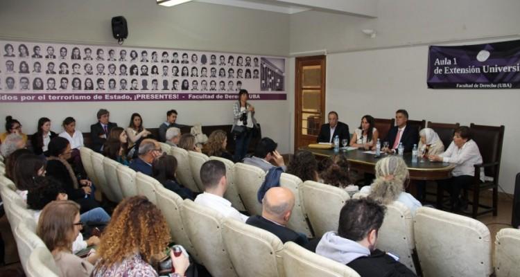 Oscar Zoppi, Valeria Thus, Daniel Rafecas, Vera Jarach y Graciela Lois