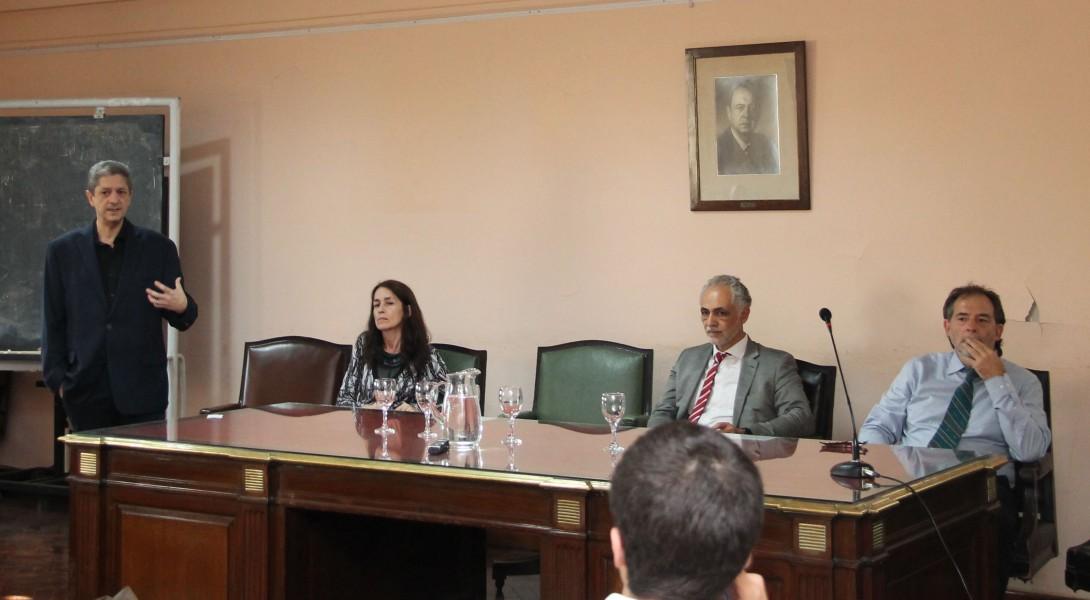 Marcelo Alegre, Laura Pautassi, Fernando Zingman y Guido Girardi