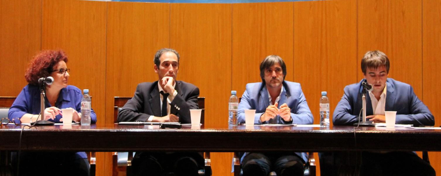 Carla Cavaliere, Leandro Halperin, Ariel Cejas Meliare e Ignacio Arriaran