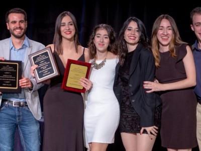 Pablo Colmegna, Víctor Elías, Florencia Fernández, Magdalena Rochi Monagas, Tamara Bustamante, Johanna González y Augusto Mayoral