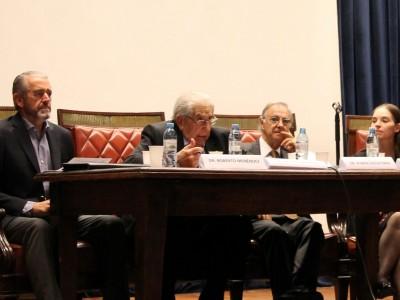 Roberto Menéndez, Héctor R. Sandler, Rubén A. Calcaterra y Miriam Silvia P.