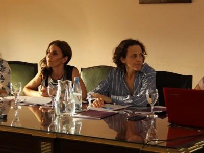 Cecilia Incardona, Julieta Di Corleto, Maria Piqué y Romina Pzellinsky