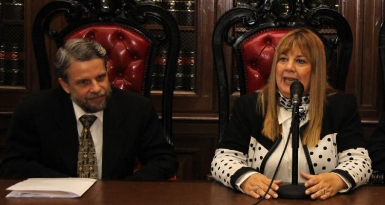 Marcelo Lamy y Marisa Aizenberg