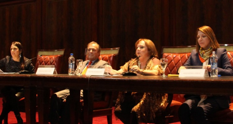 Gabriela Urthiague, Marcelo Gebhardt, Beatriz Rodriguez y Alejandra Jorge
