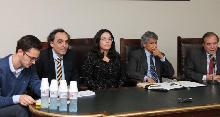 Francisco Balbìn, Raúl Gustavo Ferreyra, Carolina Machado, Leandro Vergara y Marcelo Gebhart