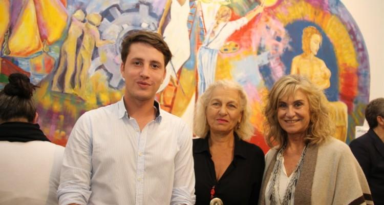 Federico Gallardo, Zulma García Cuerva y Liliana Wydler