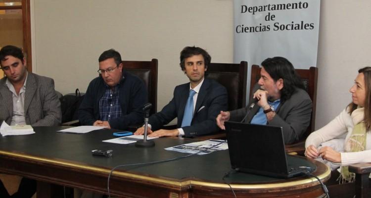 Julián Axat, Miguel Vedda, Guido Croxatto, Ricardo Rabinovich-Berkman y Andrea Gastron