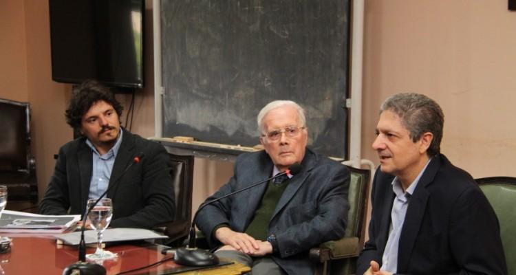 Juan Francisco Martínez Pería, Tulio Ortiz y Marcelo Alegre