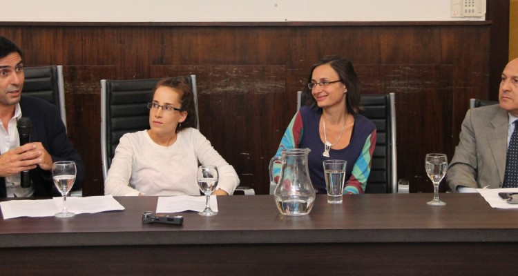 Leandro E. Costanzo, Laura Rozenberg, Marina Rubino y Javier De Luca